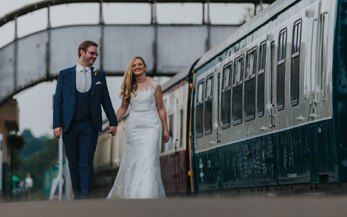 east anglian railway wedding