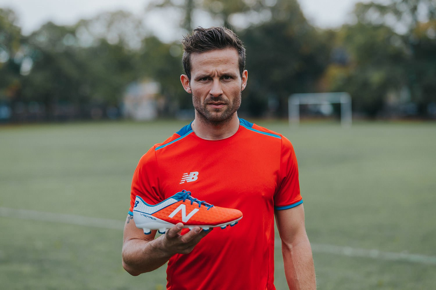 Yohan Cabaye for New Balance Matt Wing