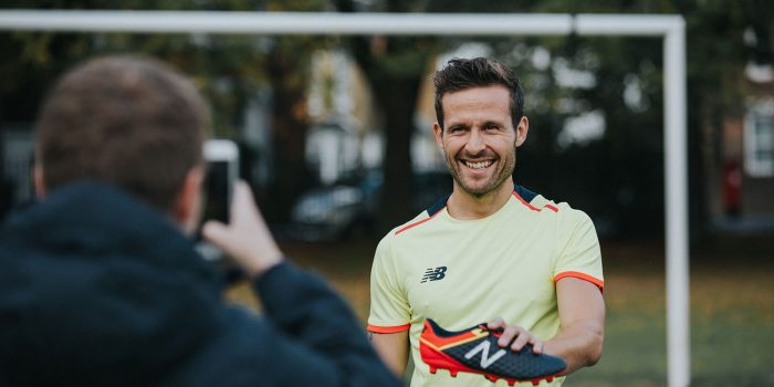 Yohan Cabaye for New Balance