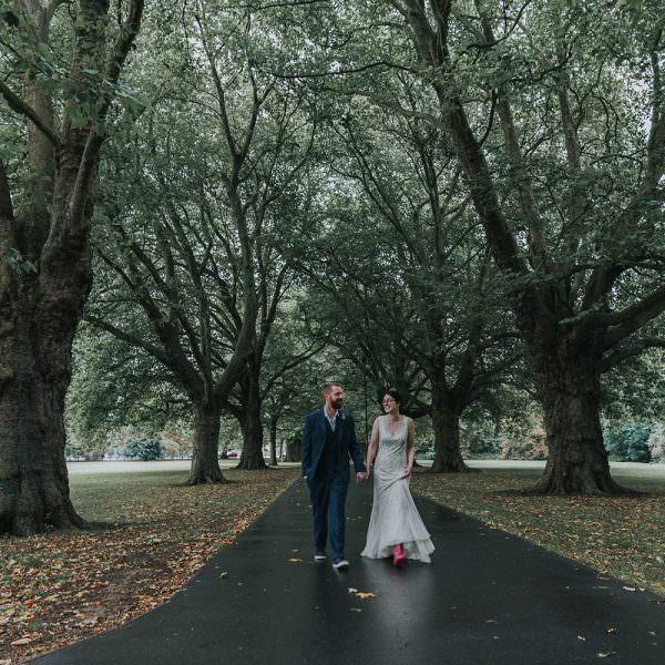 alternative cambridge wedding