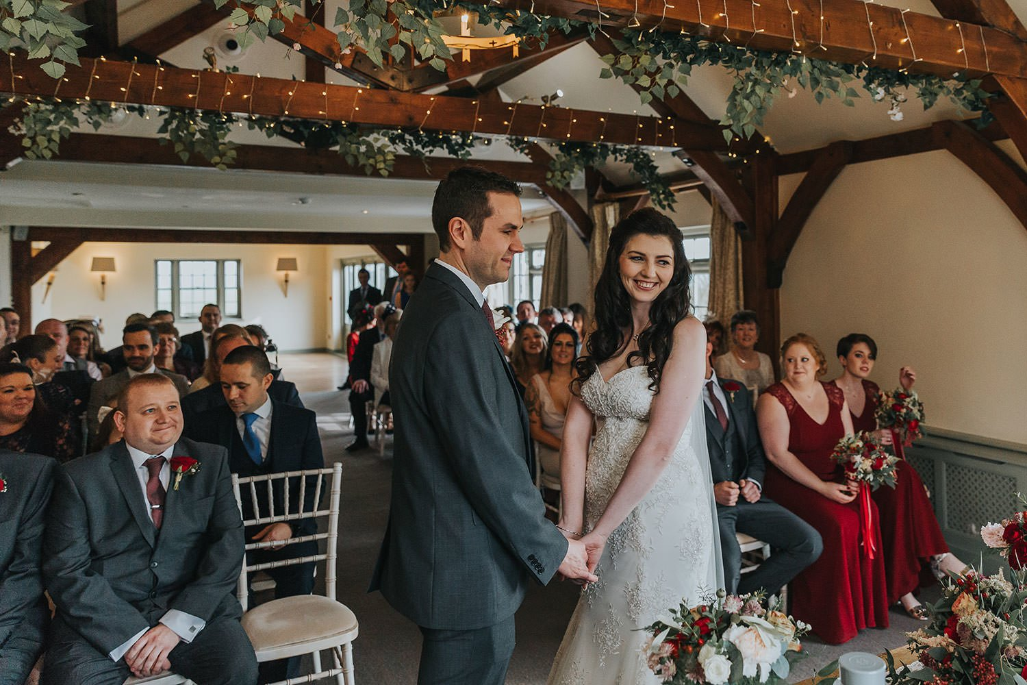 wedding photography at The Compasses Pattiswick