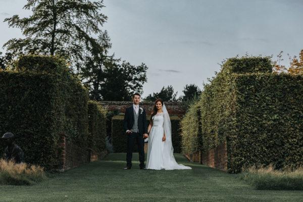 Encya and John / August 2017 / Marks Hall Wedding