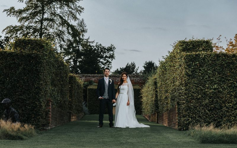 Encya and John / August 2017 / Marks Hall Wedding