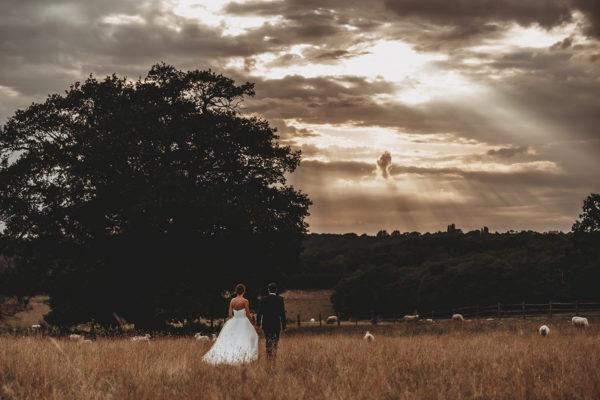 Gaynes Park Wedding / Jodie & Asa / August 2019